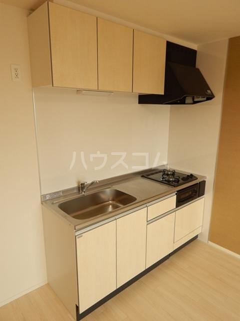 ピースフリー 202号室のキッチン