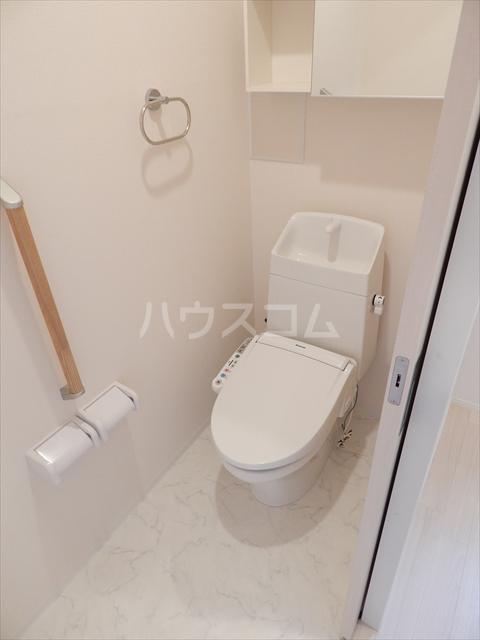 ピースフリー 202号室のトイレ