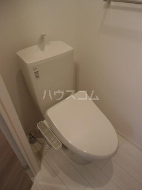 シャルマン 101号室のトイレ