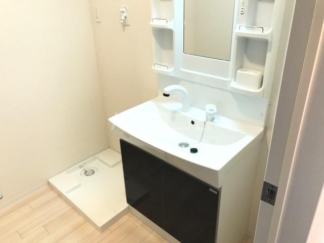 サンライズA 202号室の洗面所