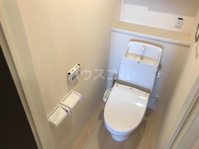 サンライズA 202号室のトイレ