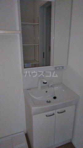 キャラマス 101号室の洗面所