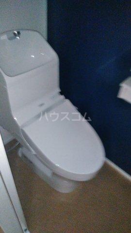 キャラマス 101号室のトイレ