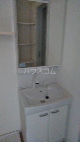 キャラマス 201号室の洗面所