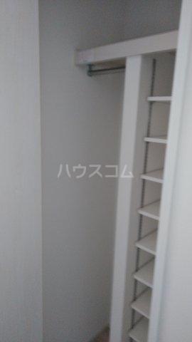 キャラマス 201号室の収納