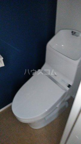 キャラマス 203号室のトイレ