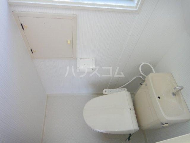 南羽生貸家のトイレ