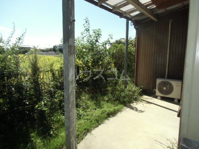志多見3LDK戸建の庭