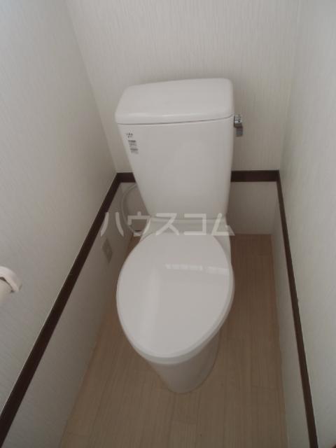 八甫貸家のトイレ