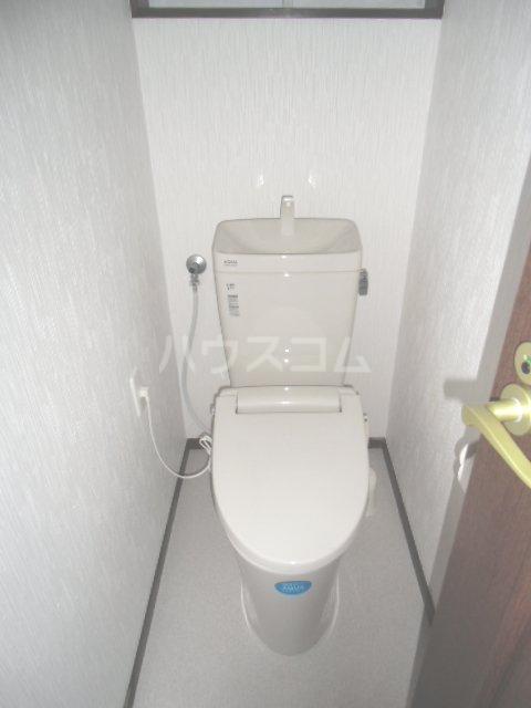 北青柳戸建てのトイレ