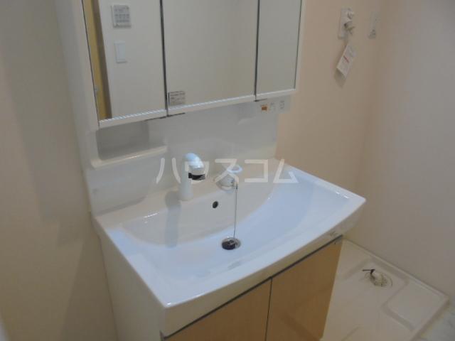 グランベル・ハウス 203号室の洗面所