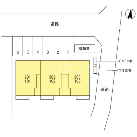 (仮)西新宿6丁目D-ROOM新築工事 101号室のその他