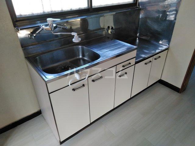 浅間台住宅Fのキッチン