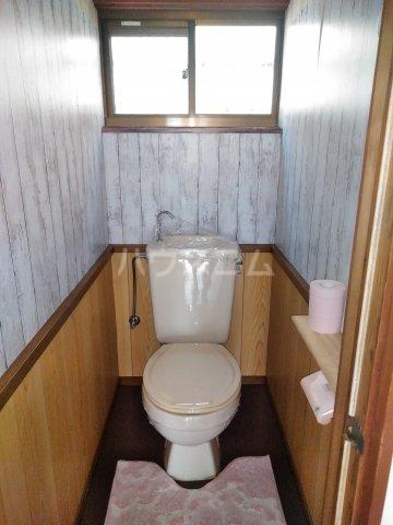浅間台住宅Fのトイレ