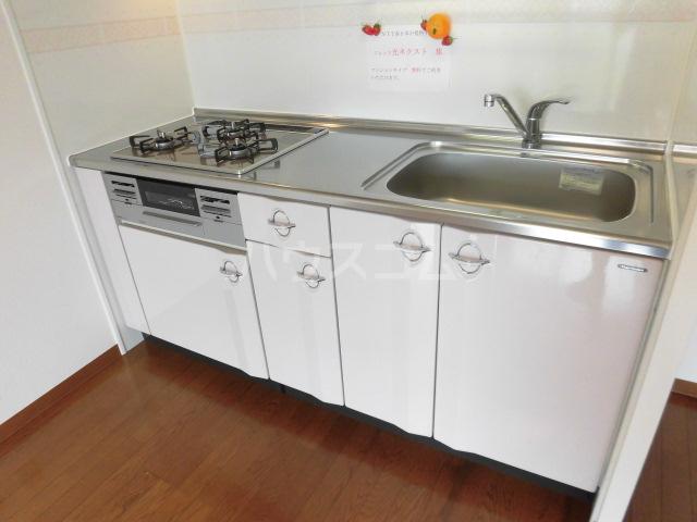 北斗 202号室のキッチン