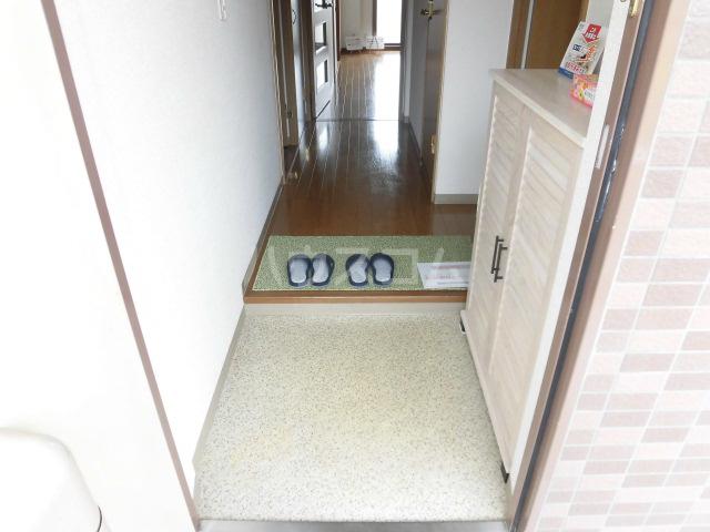 北斗 202号室の玄関