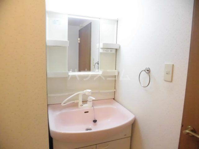 北斗 202号室の洗面所