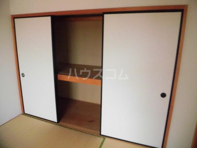 コスモスB 202号室の収納