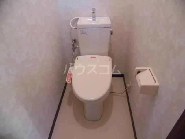 エコパルⅡ 201号室のトイレ