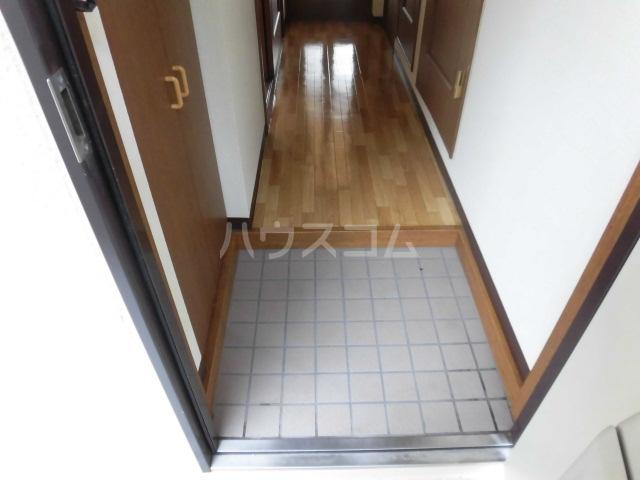 エコパルⅡ 201号室の玄関