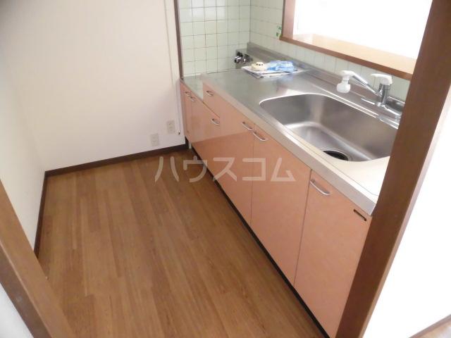 ラフィーネ掛川aⅠ 102号室のキッチン