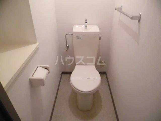 アソシエ 405号室のトイレ