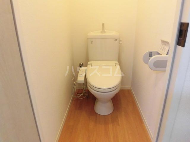 日和 201号室のトイレ