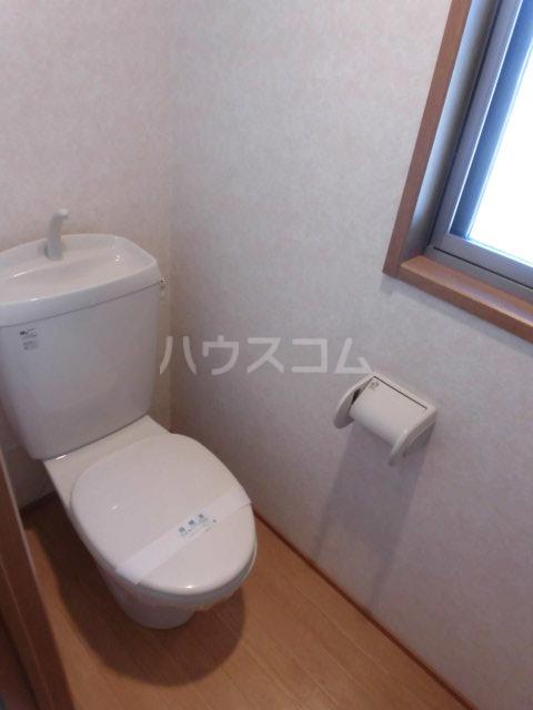 エトワール 201号室のトイレ