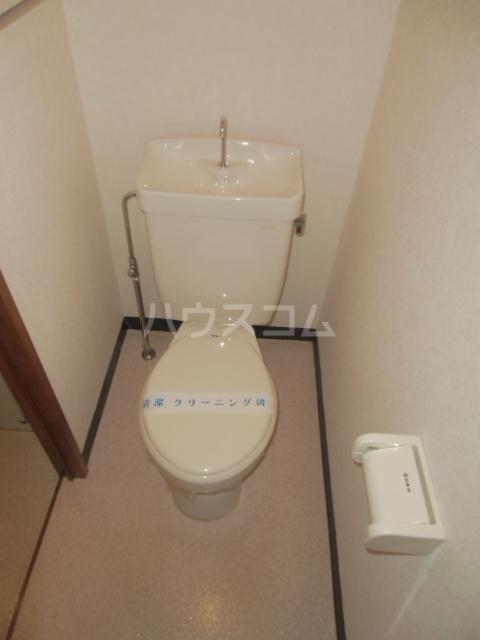 ハイツ百合の木Ⅰ 301号室のトイレ