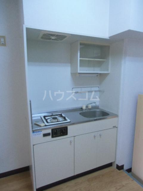 ヒルズM&O 106号室のキッチン