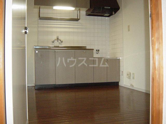 シャト―森平 202号室のキッチン