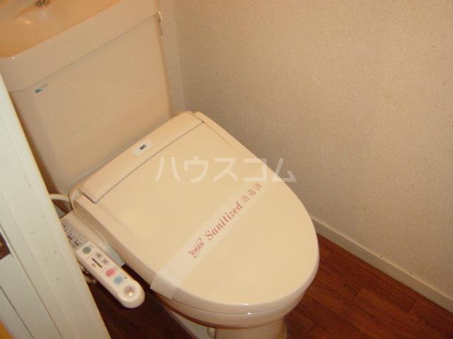 シャト―森平 202号室のトイレ