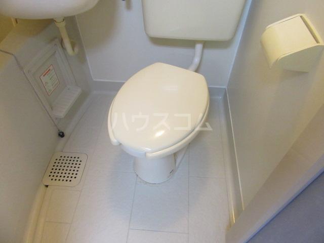 グリーンヒル 402号室のトイレ