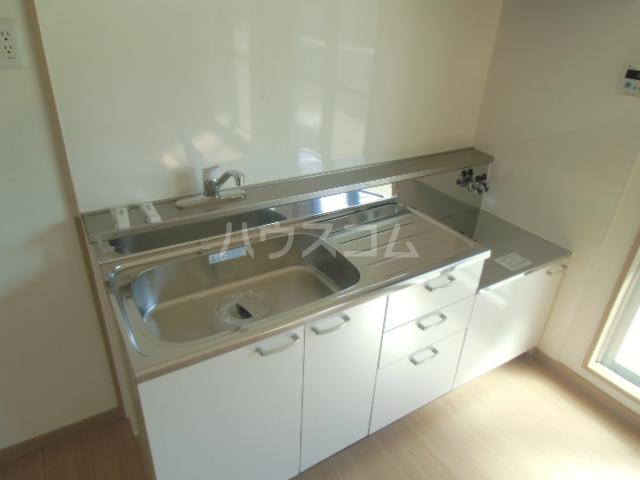 ドミ美 205号室のキッチン