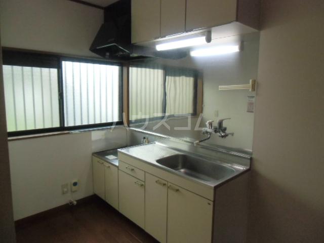 ハイツ青木 203号室のキッチン
