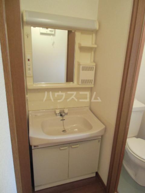 ハイツ青木 203号室の洗面所