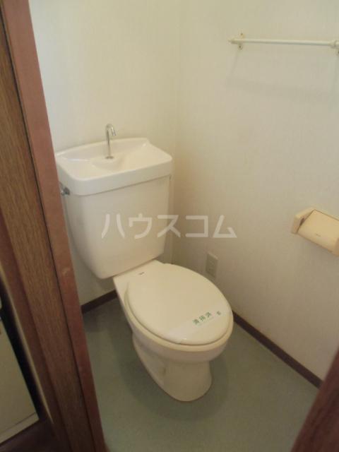 ハイツ青木 203号室のトイレ