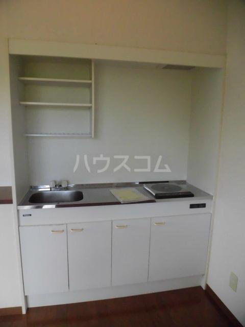 シアトル 505号室のキッチン
