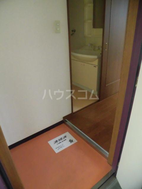 シアトル 505号室の玄関