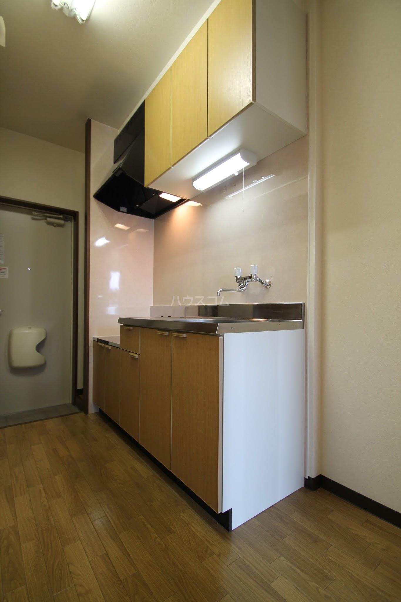ルースヤハタB 203号室のキッチン