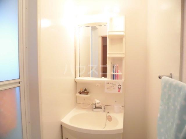 メゾン・ド・リンデン A 101号室の洗面所