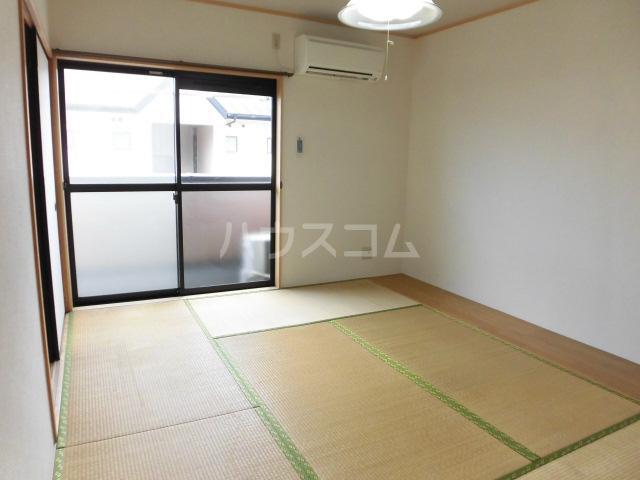 ボナール薗ヶ谷Ⅱ 201号室のベッドルーム