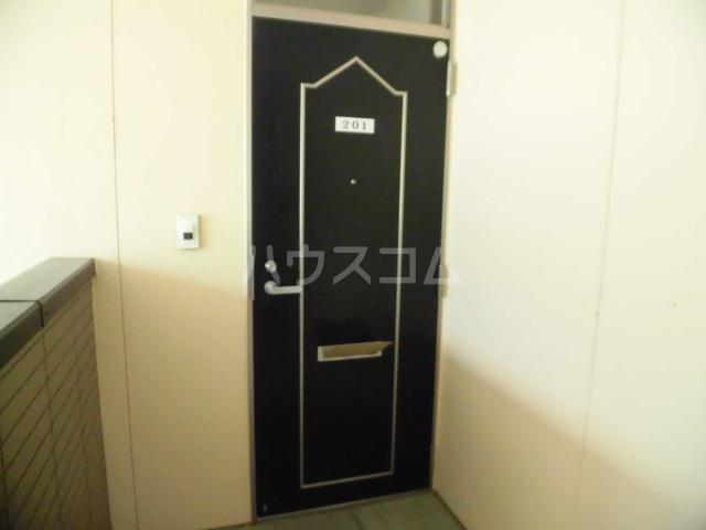 ボナール薗ヶ谷Ⅱ 201号室のエントランス