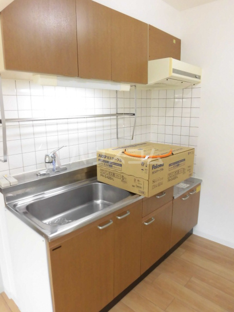 PROGRESS 203号室のキッチン
