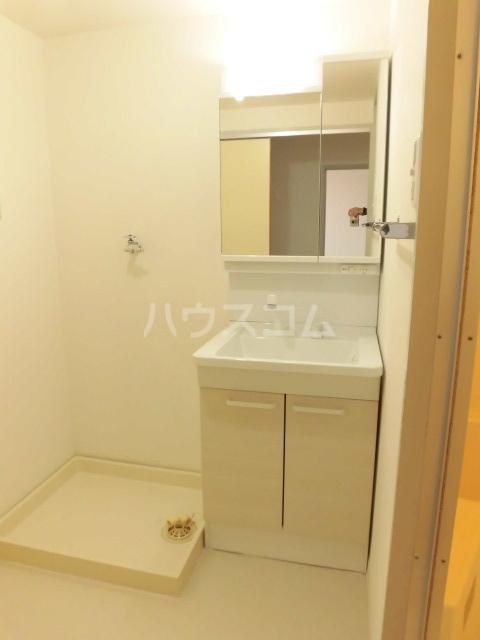 PROGRESS 203号室の洗面所