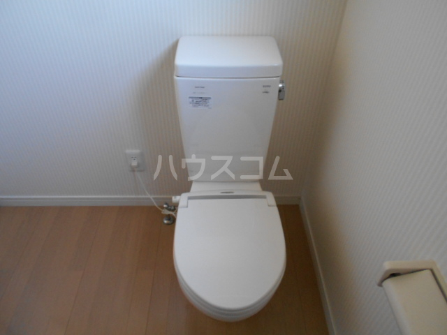 BBA-Loge上田アパート D号室のトイレ