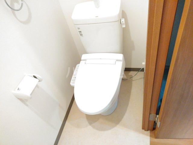 ベルビュー太秦 102号室のトイレ