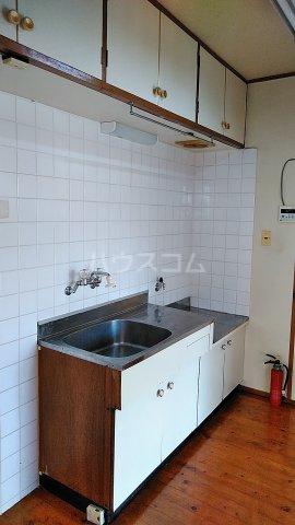 コーポ岡田 201号室のキッチン