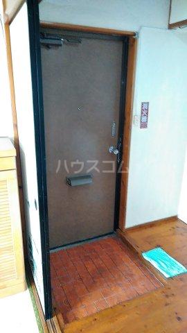 コーポ岡田 201号室の玄関