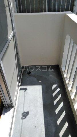 コーポ岡田 201号室のバルコニー